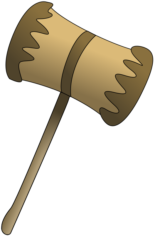 Wood mallet clipart clip art freeuse library Free Clipart: Wooden Mallet | Anonymous clip art freeuse library