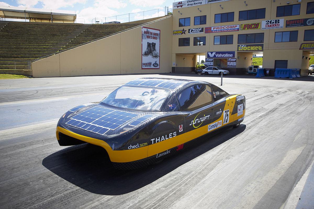Wood paneled car clipart jpg free Solar car - Wikipedia jpg free