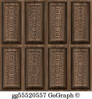 Wood panels clipart free png black and white stock Wood Panels Clip Art - Royalty Free - GoGraph png black and white stock