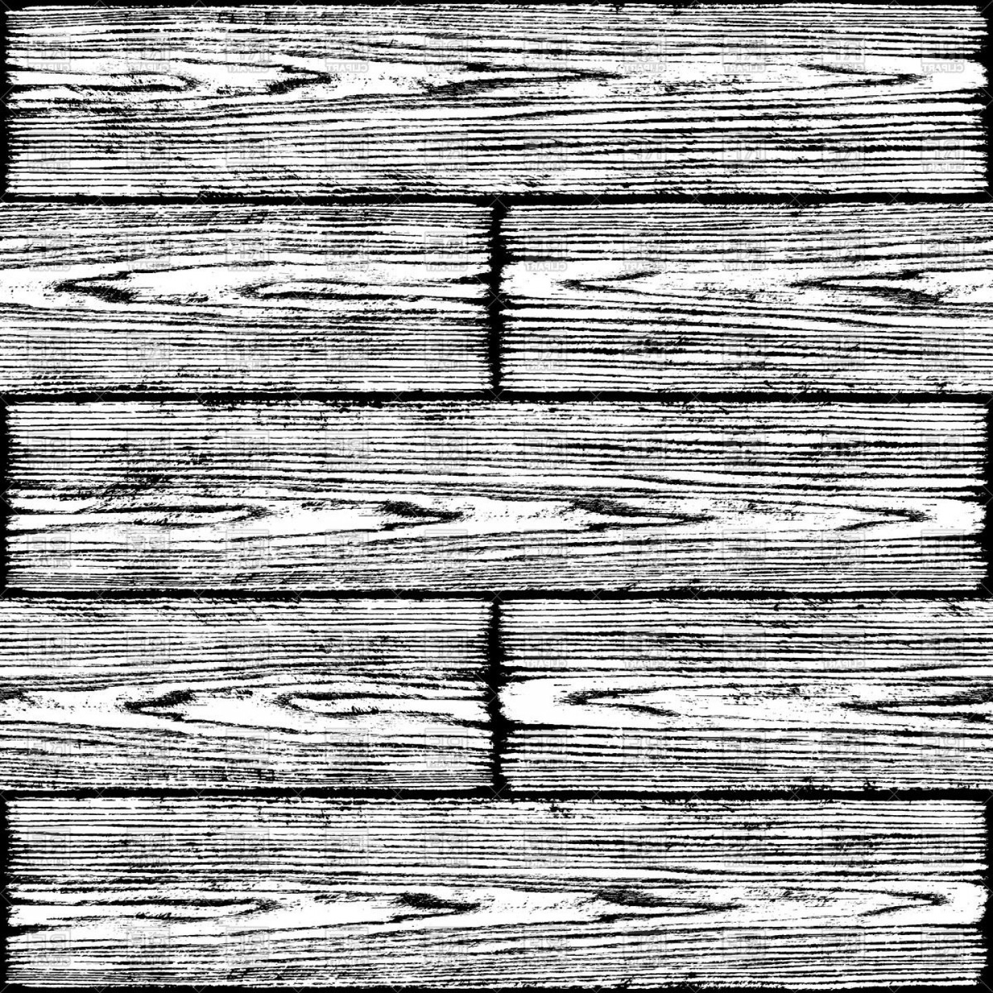 Wood plank black white clipart picture free Horizontal Wooden Planks Black And White Wood Texture Vector ... picture free