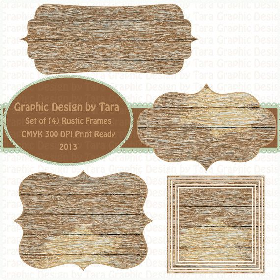Wood print clipart royalty free library Rustic Wood Frame Png , (+) Png Group - romolagarai.org< royalty free library