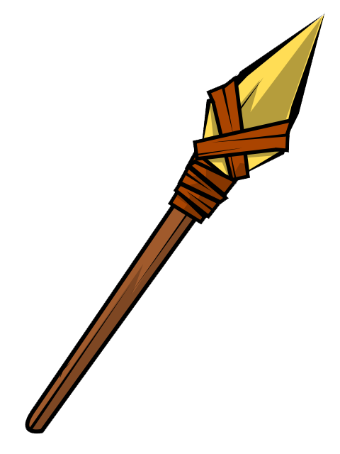Wood spear clipart clip free library Free Spear Cliparts, Download Free Clip Art, Free Clip Art ... clip free library