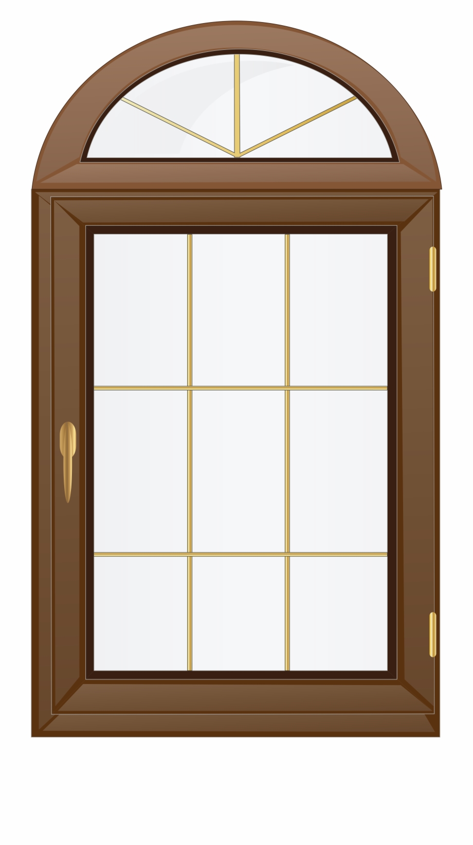Wood window clipart jpg free download Brown Png Clip Art - Window Clipart Png, Transparent Png ... jpg free download