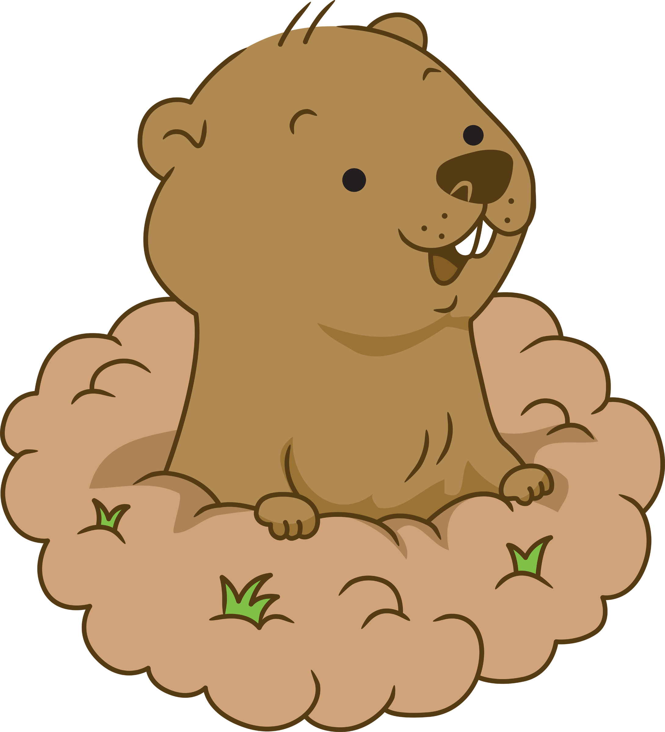 Woodchuck clipart image svg free download Free Groundhog Cliparts, Download Free Clip Art, Free Clip ... svg free download