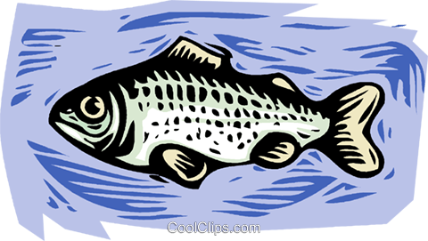 Woodcut fish clipart vector freeuse library fish, woodcut style, Royalty Free Vector Clip Art ... vector freeuse library