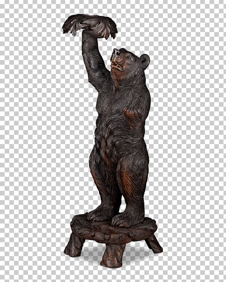 Wooden carved bear clipart png royalty free Black Forest Bronze Sculpture Wood Carving PNG, Clipart ... png royalty free