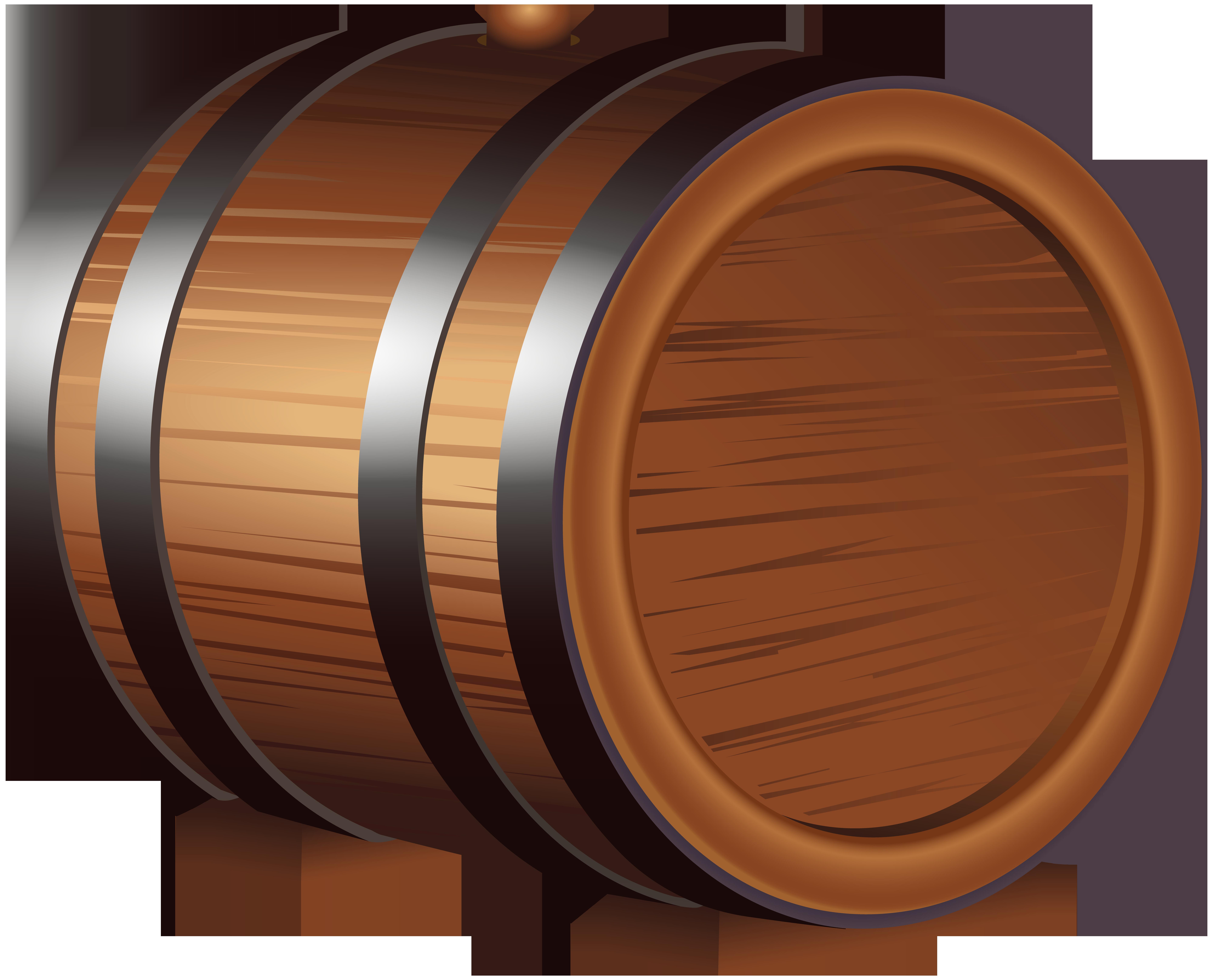 Wooden barrel top clipart clip transparent library Wooden Barrel PNG Clip Art Image | Gallery Yopriceville ... clip transparent library
