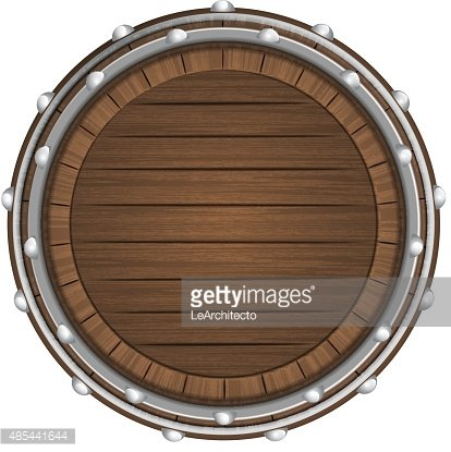 Wooden barrel top clipart png library library Wooden Barrel Top Object 3d Design Isolated premium clipart ... png library library
