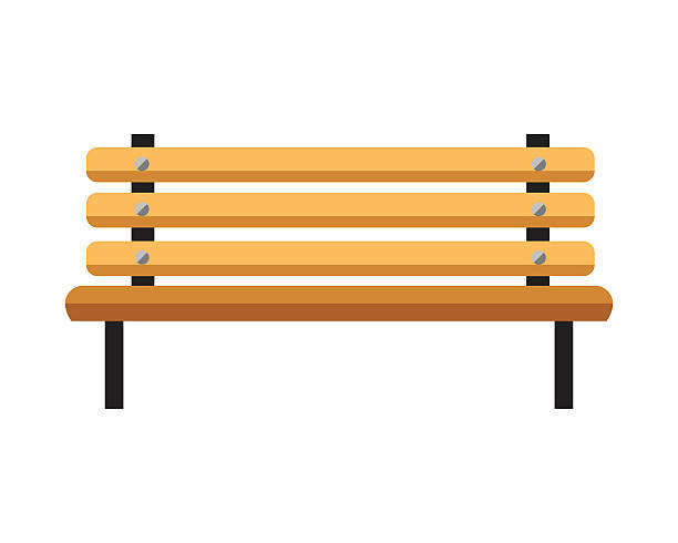 Wooden bench clipart png Wooden bench. Isolated on white background. Vector » Clipart ... png