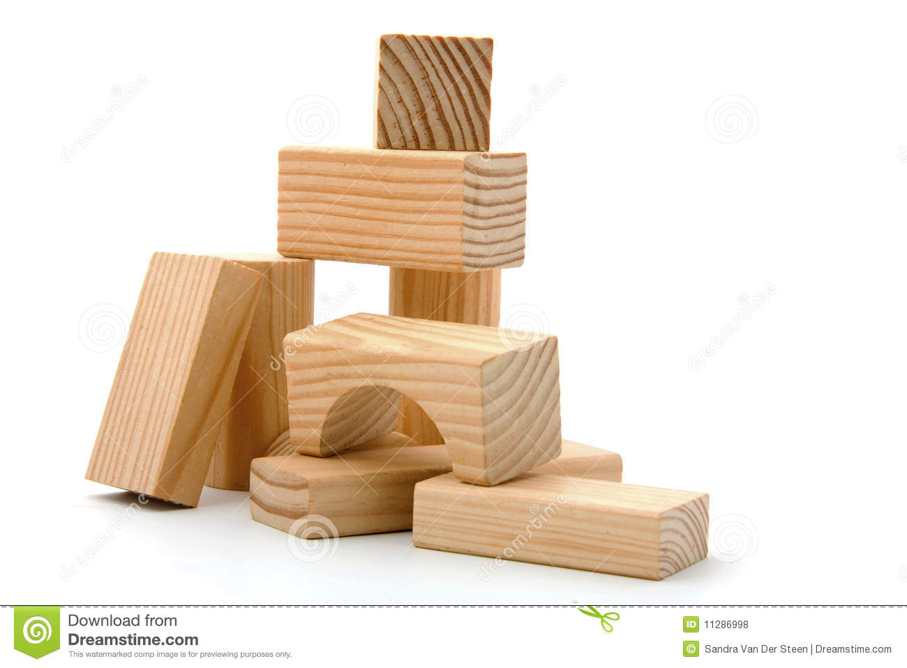 Wooden block clipart png royalty free library Wooden Building Blocks Royalty Free Stock Photos - Image: 11286998 png royalty free library
