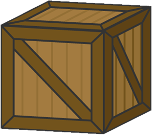 Wooden boxes clipart image transparent stock When to use a wooden moving crate   Moveline image transparent stock