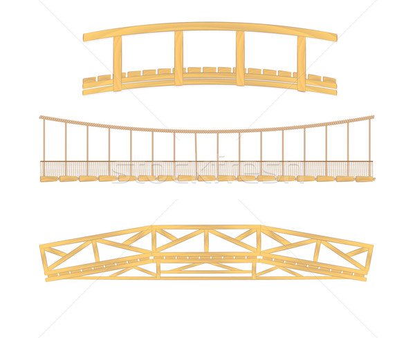 Wooden bridge side view clipart clipart transparent Wooden Bridge Side View Clipart clipart transparent