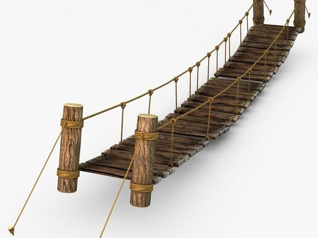 Wooden bridge side view clipart library Free Rope Bridge Clipart, Download Free Clip Art on Owips.com library
