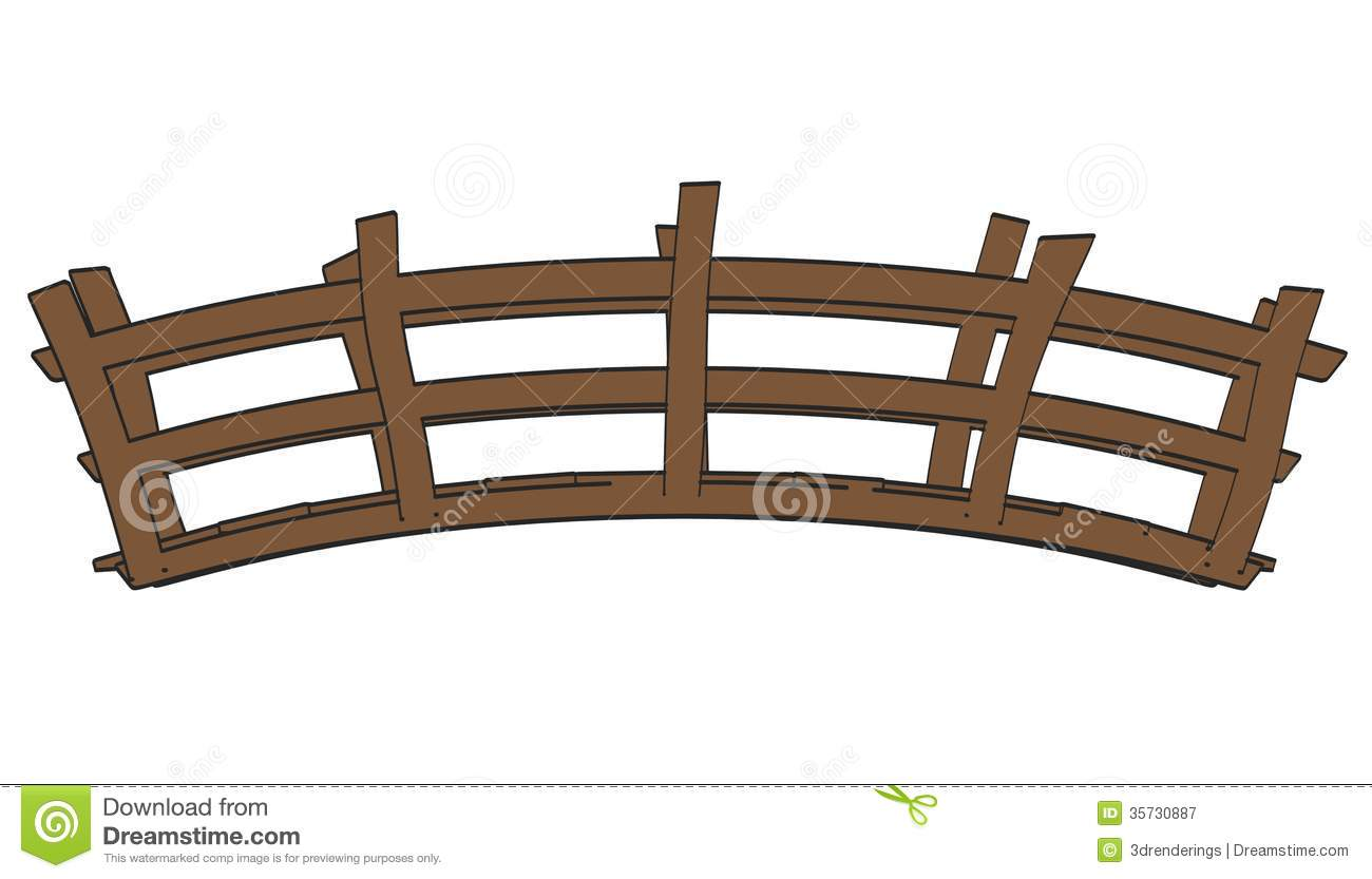 Wooden bridge side view clipart graphic Wooden Bridge Side View Clipart graphic