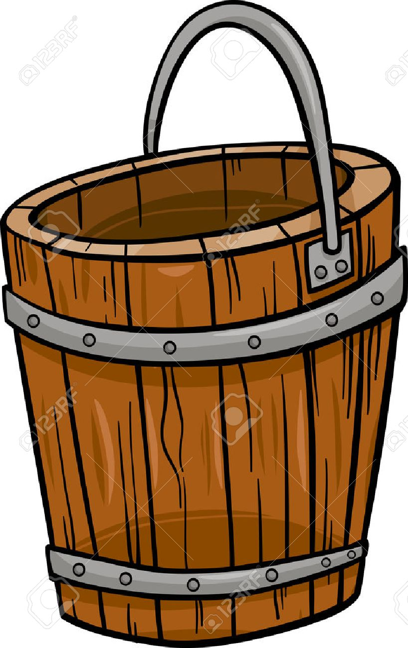 Wooden bucket with water clipart clipart royalty free library Water Bucket Cliparts | Free download best Water Bucket ... clipart royalty free library