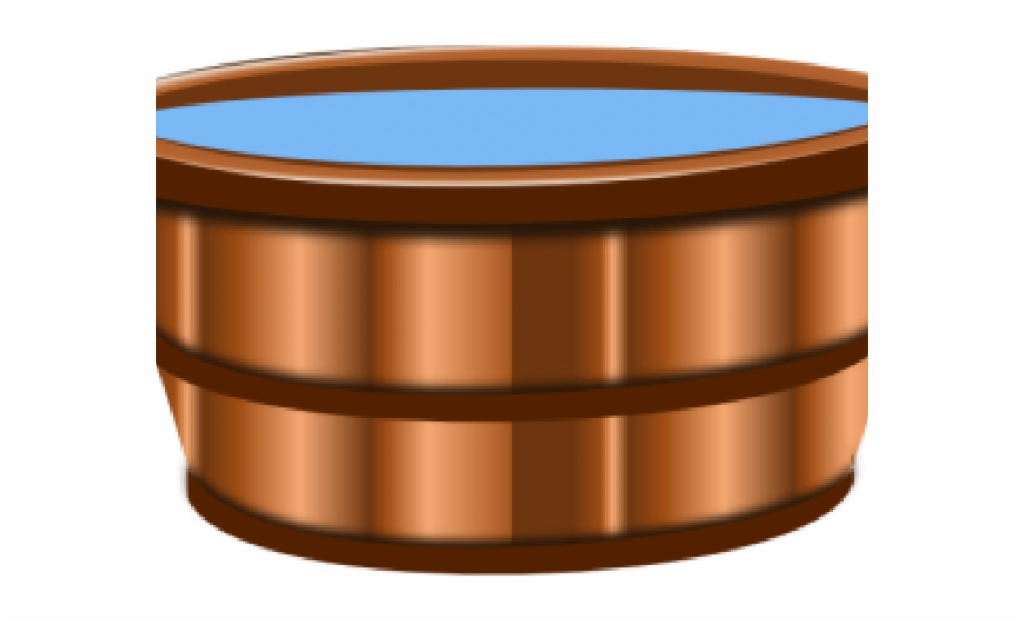 Wooden bucket with water clipart picture freeuse download Water Bucket Cliparts - Circle, Transparent Png Download For ... picture freeuse download