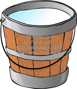 Wooden bucket with water clipart picture royalty free Water Bucket Cliparts | Free download best Water Bucket ... picture royalty free
