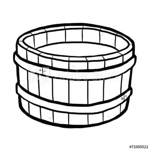Wooden bucket with water clipart picture royalty free wooden bucket and water - Buy this stock vector and explore ... picture royalty free