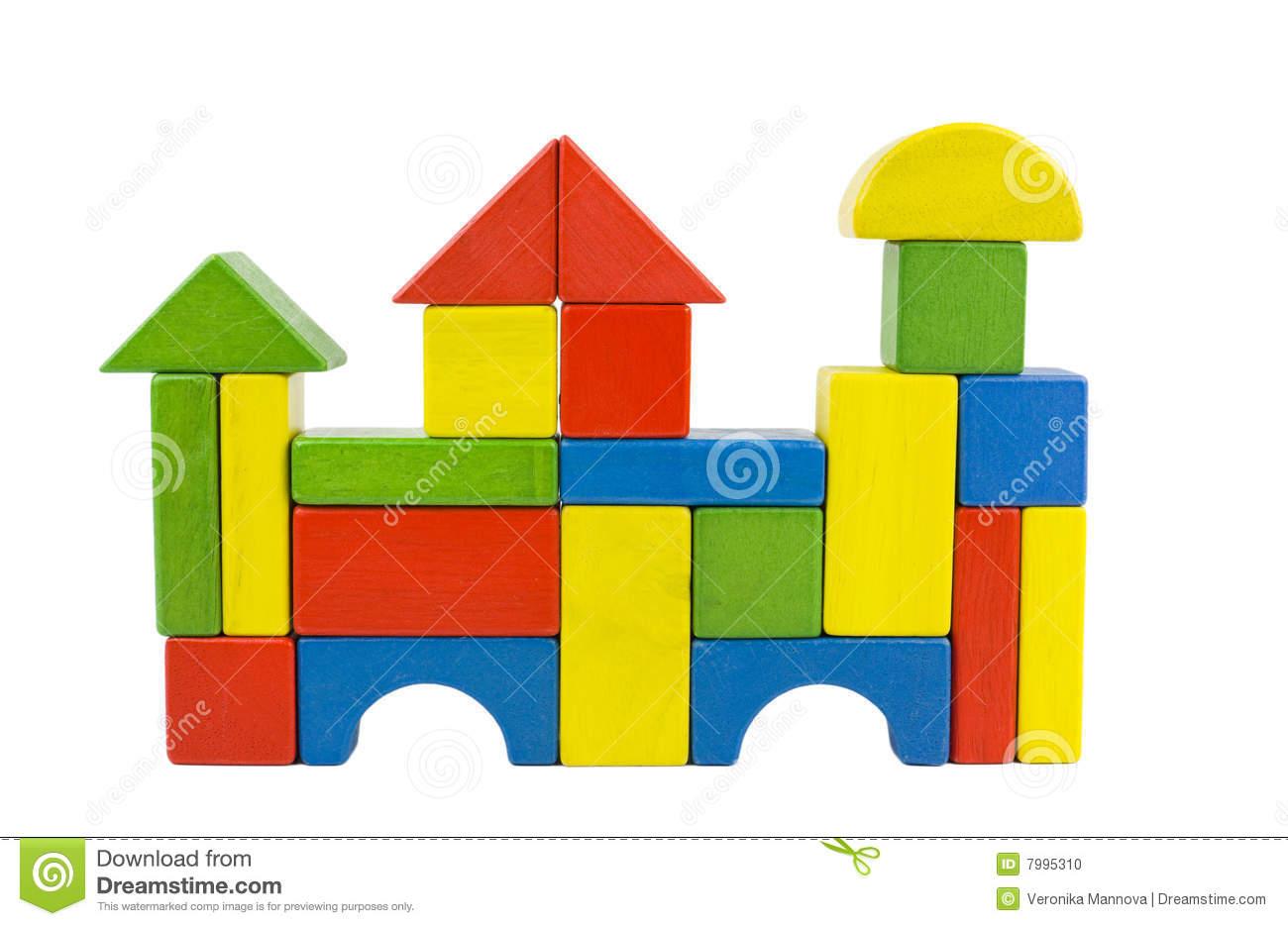 Wooden building blocks clipart jpg freeuse download Building a house with wooden blocks clipart - ClipartFest jpg freeuse download
