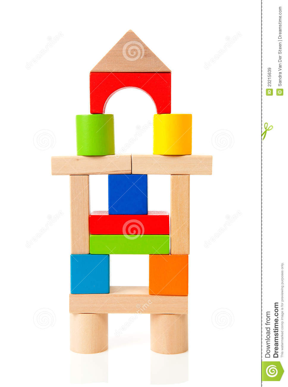 Wooden building blocks clipart png free download House Made Out Of Colorful Wooden Building Blocks Royalty Free ... png free download