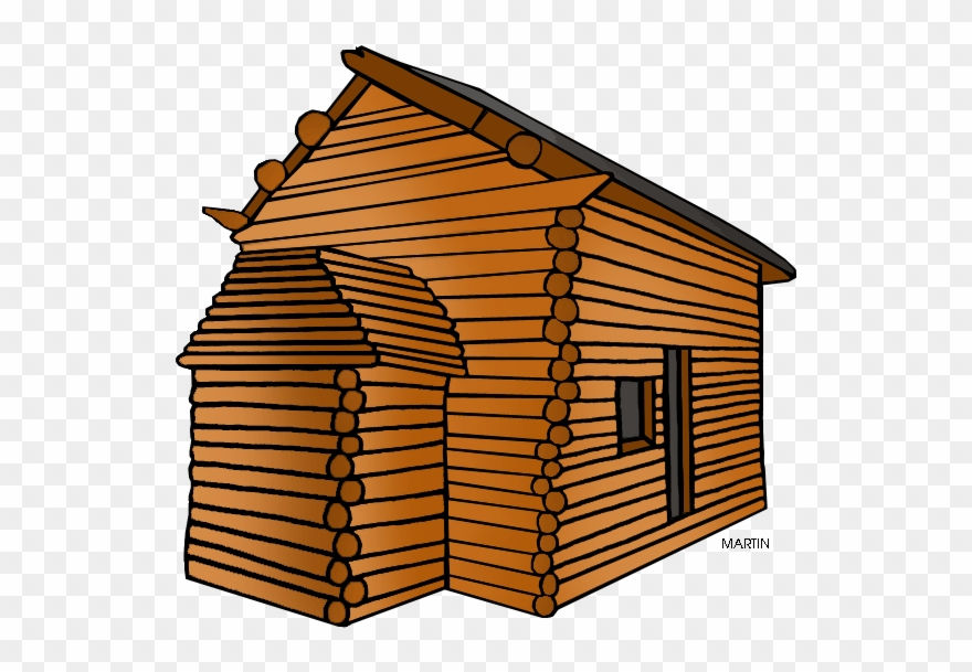 Wooden cabins clipart jpg freeuse library Log Cabin Clipart Transparent Background - Png Download ... jpg freeuse library