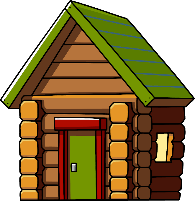 Wooden cabins clipart graphic freeuse download Log Cabin Clipart   Free download best Log Cabin Clipart on ... graphic freeuse download
