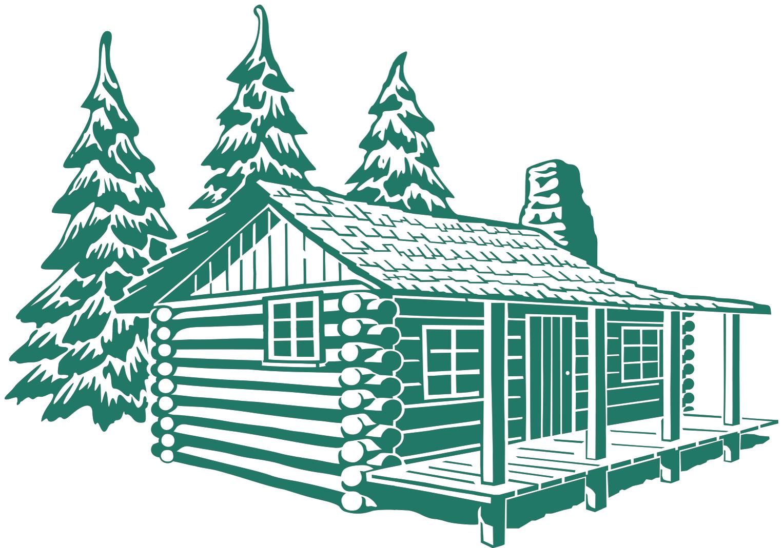 Wooden cabins clipart jpg black and white download log cabin clip art log cabin   Doodle Idea\'s   Wooden cabins ... jpg black and white download