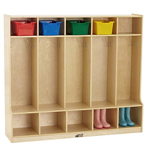 Wooden coat cubby clipart banner free library Preschool Cubbies: Amazon.com banner free library