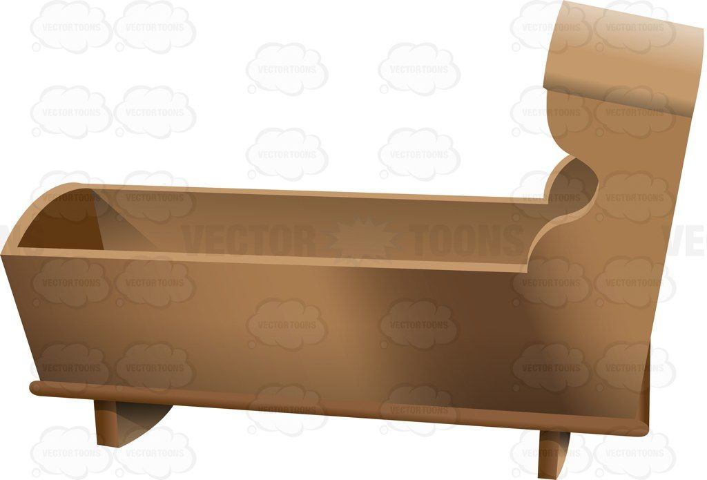 Wooden crib clipart svg download A Basic Wooden Baby Crib #antique #antiquity #baby #babybed ... svg download