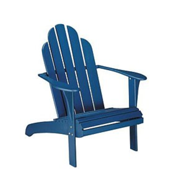 Wooden lawn chair clipart