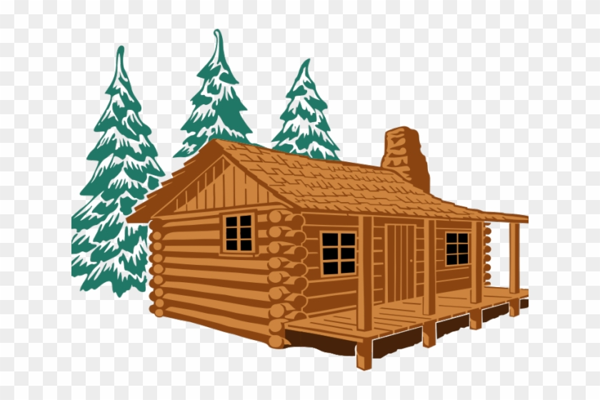Wooden logs toys clipart library Lodge Clipart Wooden Hut - Log Cabin Drawing, HD Png ... library