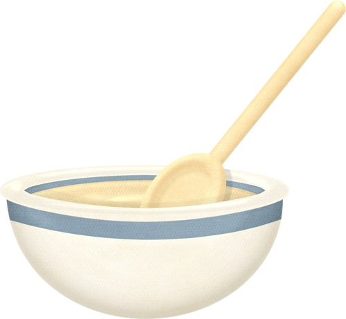 Wooden mixing bowl clipart png transparent Mixing Bowl And Wooden Spoon Clipart png transparent