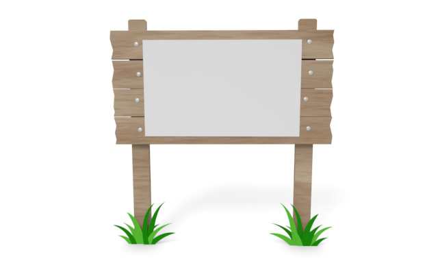 Wooden notice board clipart image freeuse stock Notice board - Free illustration | wooden relation image freeuse stock