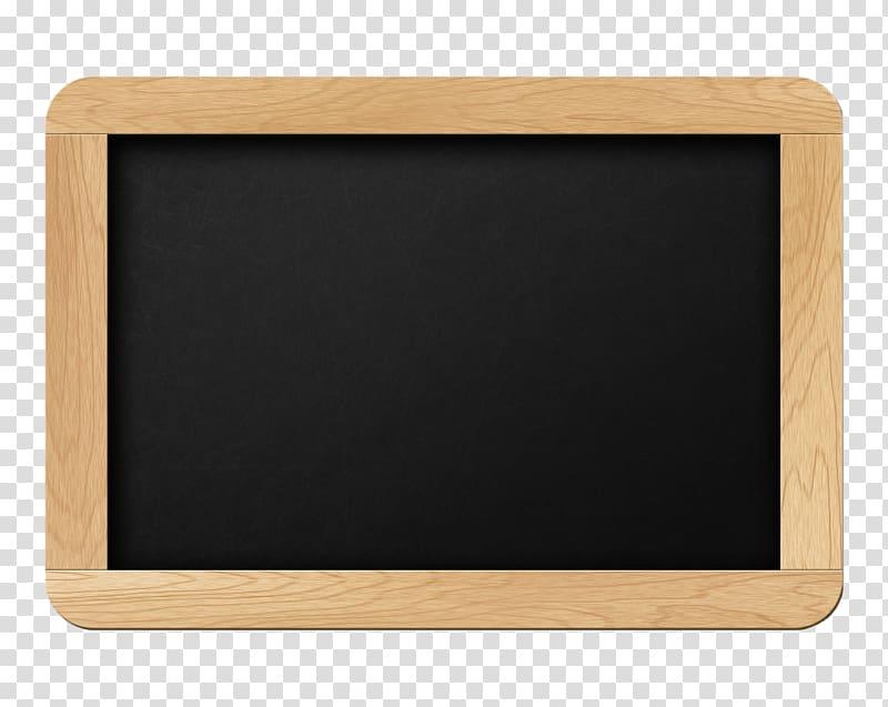 Wooden notice board clipart banner transparent stock Rectangular brown wooden framed chalkboard, Blackboard Paper ... banner transparent stock