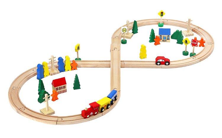 Wooden traintrack clipart clip transparent Wooden railway – train track 50/100 piece #6862   CATEGORIES ... clip transparent