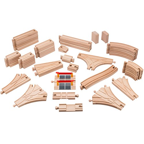 Wooden traintrack clipart clipart royalty free library Best Wooden Train Sets For Kids   Toy Train Center clipart royalty free library