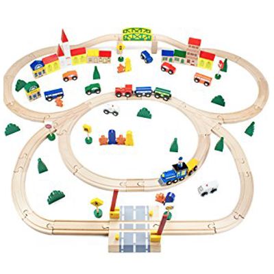 Wooden traintrack clipart svg stock 10 Best Toy Train Sets Reviews   Net Parents svg stock