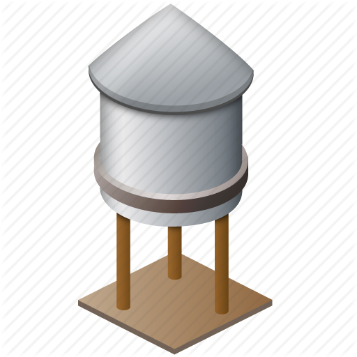 Wooden water tower clipart image free download Water Tower Icon #225506 - Free Icons Library image free download