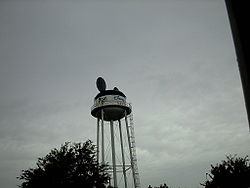 Wooden water tower clipart clip black and white Earffel Tower - Wikipedia clip black and white