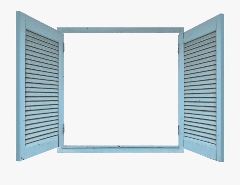 Wooden window shutter clipart graphic transparent library shutters #open #blue #wooden #window From The Gallery ... graphic transparent library