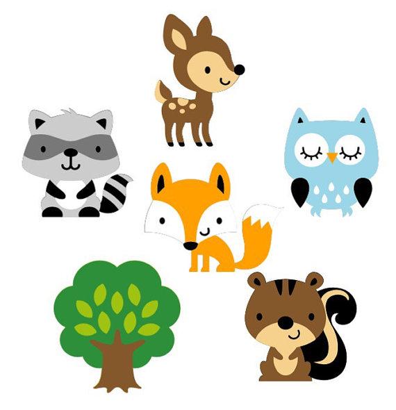 Woodland animal babies clipart svg freeuse stock Baby Woodland Animals Clipart | Free download best Baby ... svg freeuse stock