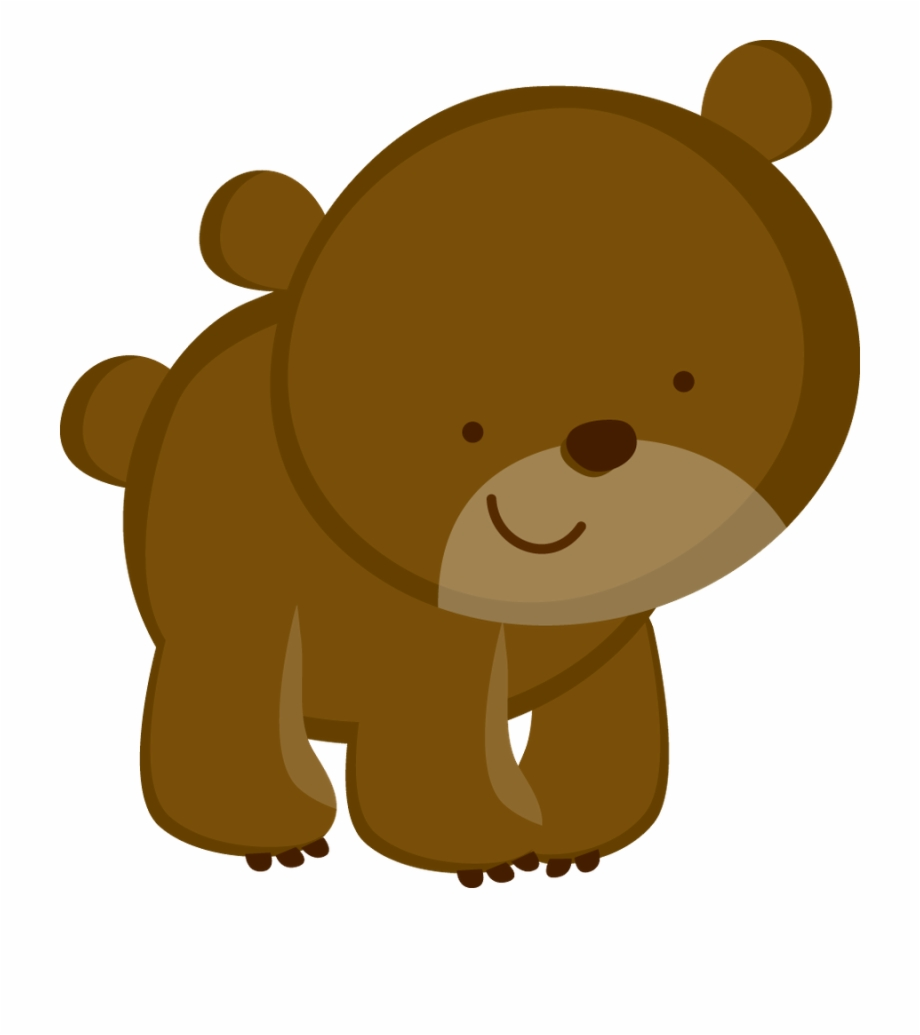 Woodland animal bear clipart image transparent download Camping Clipart, Animal Cards, Woodland Animals Theme ... image transparent download