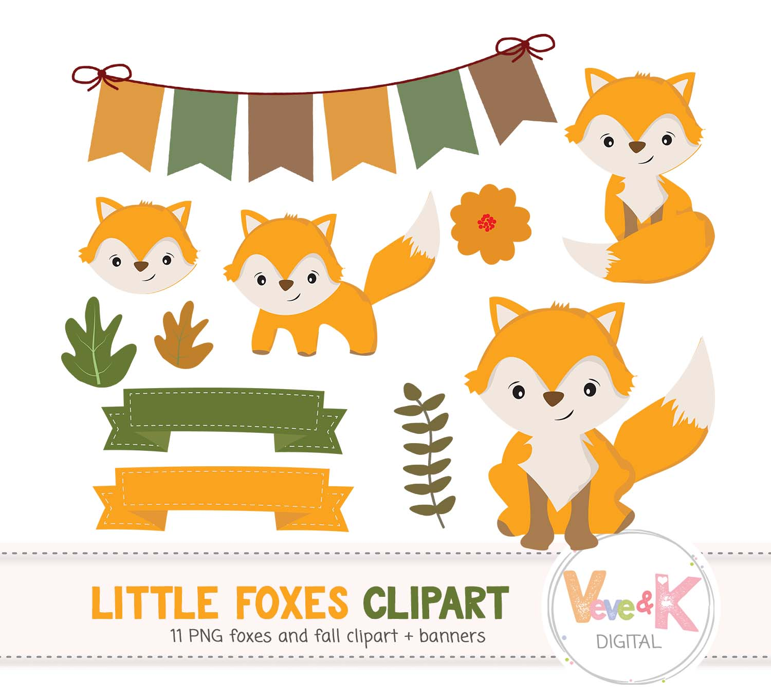 Woodland animal clipart frames clipart black and white download Fox Clip Art, Cute Fox Clipart, Little Foxes Clipart, Forest Creatures,  Forest Critters, Woodland Animals Clipart, Foxes, clipart black and white download