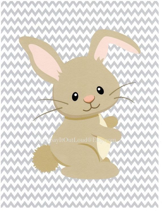 Woodland bunny clipart svg black and white library Pin by Laura Watts on Me | Baby room art, Art wall kids ... svg black and white library