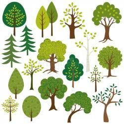 Woodland clipart trees clipart freeuse download tree clipart woodland   Baby on Board   Tree clipart, Tree ... clipart freeuse download