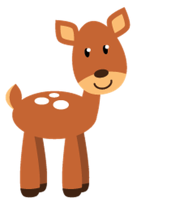 Woodland deer clipart graphic free download Free Woodland Animal Clipart   Free download best Free ... graphic free download