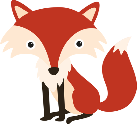 Woodland fox clipart free clip art black and white Top red fox clip art free clipart image png - ClipartPost clip art black and white