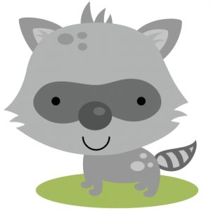Woodland free raccoon clipart clip black and white stock Free Baby Raccoon Cliparts, Download Free Clip Art, Free ... clip black and white stock