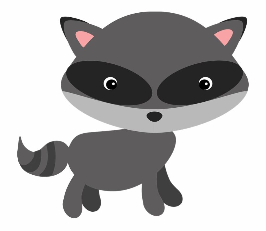 Woodland free raccoon clipart svg freeuse stock Raccoon Woodland Animal Masked Adorable - Baby Woodland ... svg freeuse stock