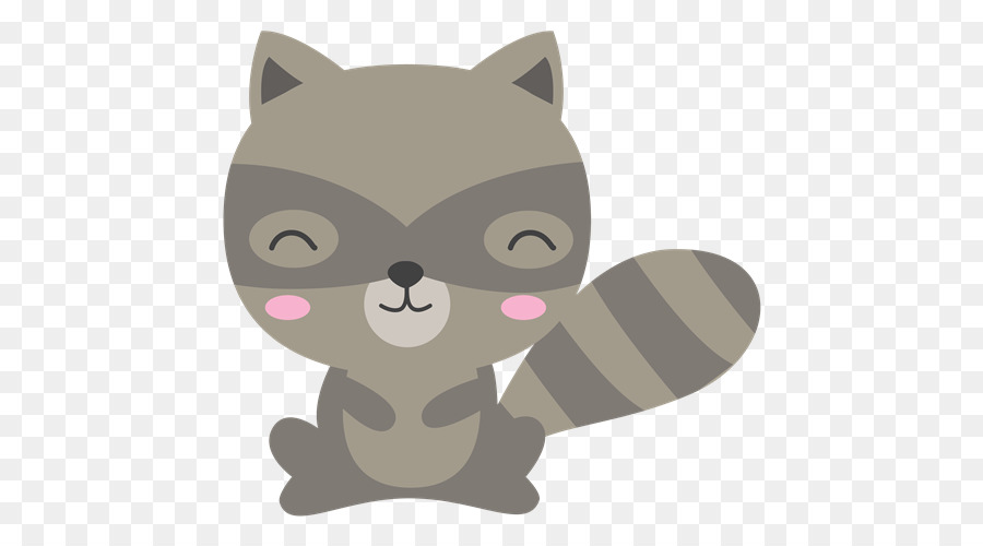 Woodland free raccoon clipart royalty free download Cat And Dog Cartoon png download - 500*500 - Free ... royalty free download
